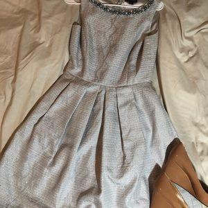 Tahari Midi Length Semi Formal Sparkly Dress